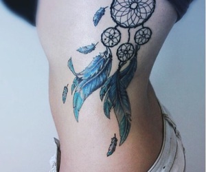 art, tattoo, and watercolor image