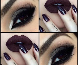 beauty, maquiagem, and nails image