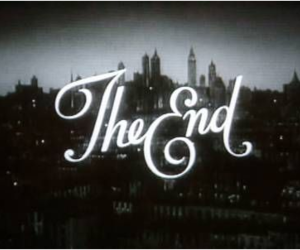 black&white, the end, and vintage image