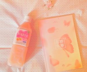 peach, bts, and album image