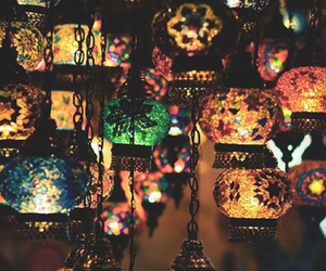 colors, lamps, and lights image
