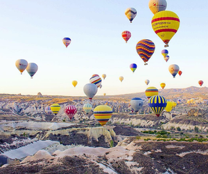 air, balloons, and color image
