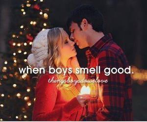 boys, good, and smell image