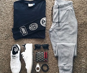 adidas and for men image