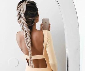 braids, brown, and fashion image