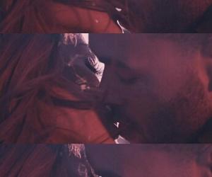 kiss, into you, and ariana grande image