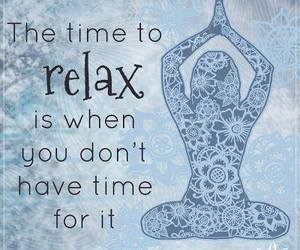yoga and relax image