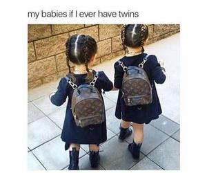 babies, fashion, and girls image