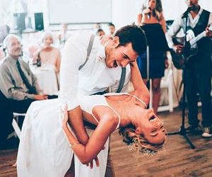 couple, love, and dancing image