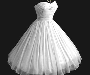 party dress, prom dress, and strapless dress image