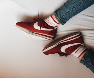 cortez, rood, and jeans image