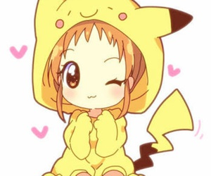 pikachu, anime, and kawaii image