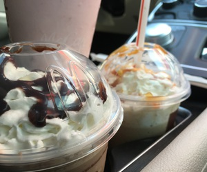 coffee, McDonalds, and frappe image