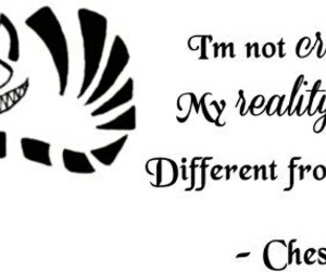 Cheshire cat, quote, and alice image