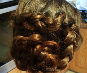 awesome, updo, and summer hairstyle image
