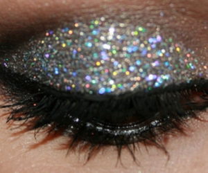 glitter, eye, and make up image