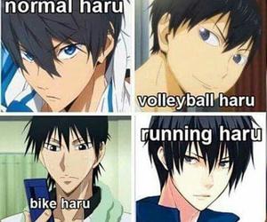 anime, haikyuu, and fujiwara takeru image
