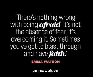 emma watson, fear, and wrong image