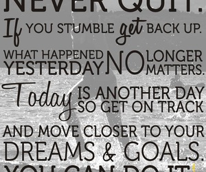 quote, dreams, and goals image