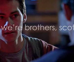 brothers, teen wolf, and scott image
