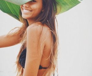girl, summer, and smile image