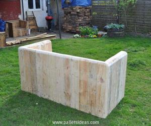 pallet patio furniture, pallet garden furniture, and pallet outdoor furniture image