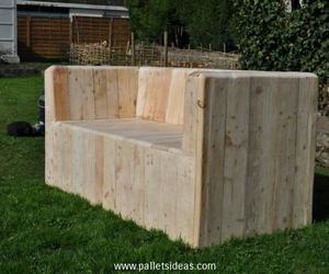 pallet deck furniture, pallet patio furniture, and pallet outdoor furniture image