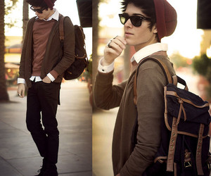 boy, guy, and hipster image
