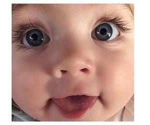 baby, eyes, and goals image