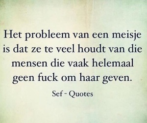 nederlands, quote, and meisjes image