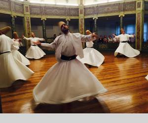 whirling dervishes, mysticism, and sema image