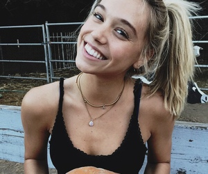 alexis ren, blonde, and model image