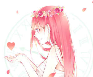 anime, vocaloid, and luka image
