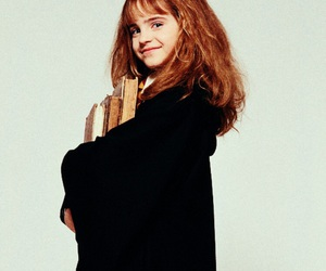 emma watson, hermione granger, and harry potter image