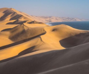 desert, places, and sea image
