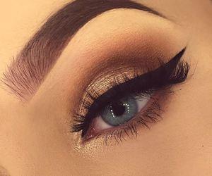 eyebrow, eye, and eyeliner image