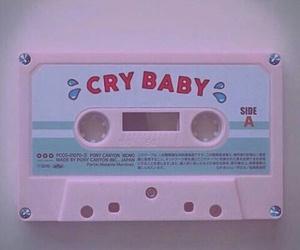 pink, melanie martinez, and cry baby image