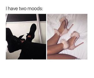 black, mood, and shoes image