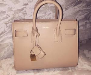 bag, luxury, and beige image