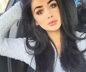 afghan, eyebrows, and girly image