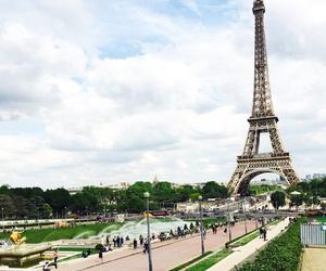 city, mood, and paris image