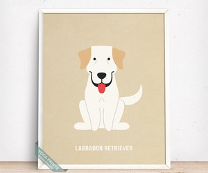 etsy, home decor, and dog breed image