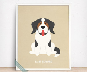 etsy, dog breed, and fathers day gift image