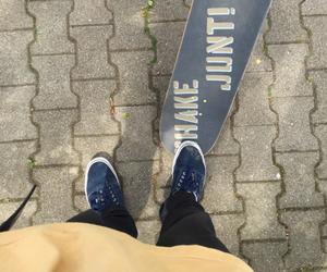 skate, skateboard, and urban image