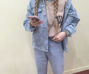 cool, jeans, and ootd image