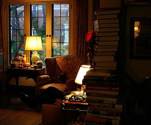 cozy, book, and comfortable image