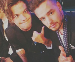 lilo, louis tomlinson, and one direction image