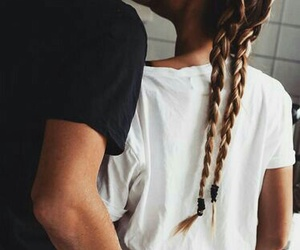 braids, cooking, and kissing image