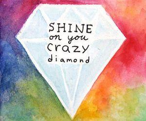 diamond, shine, and Pink Floyd image