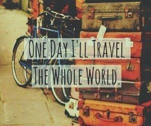 world, oneday, and travel image